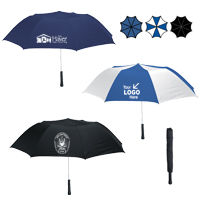 "56"" Arc Giant Telescopic Folding Umbrella"